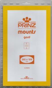 PRINZ CLEAR MOUNTS 265X109 (5) RETAIL PRICE $11.50