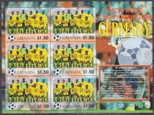 2006 Grenada 5733KL 2006 FIFA World Cup Germany( Togo ) 9,00 €