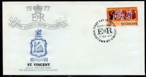 BRITISH  COMMONWEALTH SILVER JUBILEE OF QUEEN ELIZABETH II LOT III OF 10  FDCS
