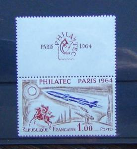 France 1964 Philatelic 1964 International Stamp Exhibition 3rd issue MNH