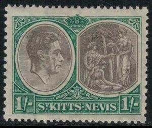 St. Kitts-Nevis #86a*  CV $8.50