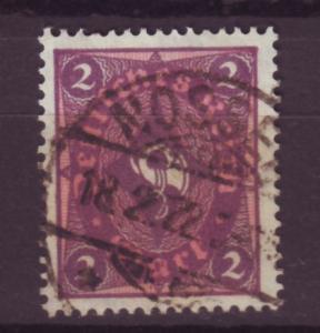 J13678 JLstamps 1921-2 germany used #177 wmk 126 posthorn