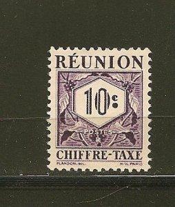 Reunion J26 Postage Due Mint Hinged