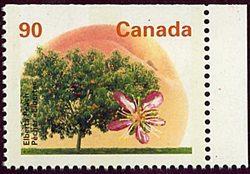 Canada USC #1374b Mint VF-NH 1995 90c Perf. 14.4x13.8 SE May Be At Top or Bottom