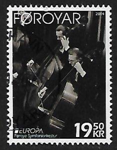 Faroe Islands # 620 - Bass Players - used