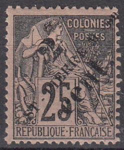 St Pierre & Miq. 41 Y&T 40 MLH F/VF 1891 SCV $12.50