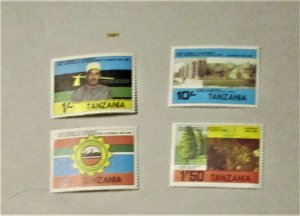 Tanzania - 237-40, MNH Set. 20th Anniversary of Revolution. SCV = $3.20