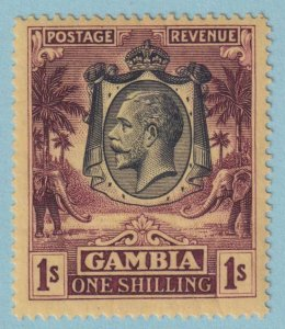 GAMBIA 123 MINT HINGED OG *  NO FAULTS EXTRA FINE