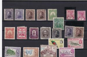 honduras and british honduras  stamps ref r11922