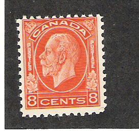 Canada Scott #200 Mint NH 8c George V 2015 CV $90.00
