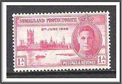 Somaliland Protectorate #108 Peace Issue MLH