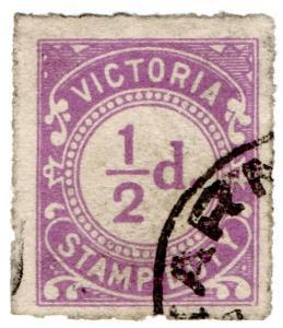 (I.B) Australia - Victoria Revenue : Stamp Duty ½d