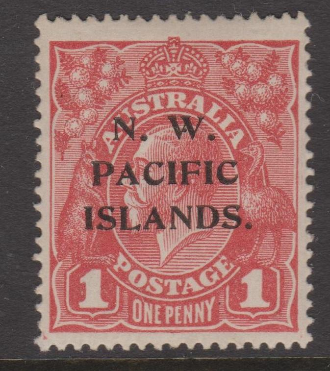 North West Pacific Islands Sc#12 MNH pencil mark on back