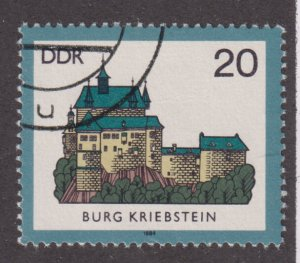 Germany DDR 2448 Kriebstein 1984