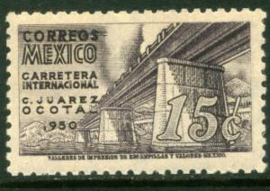 MEXICO 868, 15c Completion of Panamerican Hwy. Unused, H OG. VF.