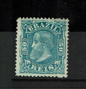Brazil SC# 88, Mint Hinged, Hinge Rem, some toning, minor gum creasing - S8109