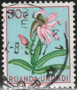 Ruanda-Urundi Scott 119 Used stamp