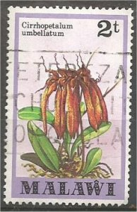 MALAWI 1979 used 2t  Orchids Scott 328