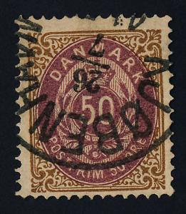 Denmark 33 used - Numeral