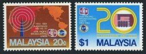 Malaysia 281-282,MNH.Michel 284-285. Asia-Pacific Broadcasting Union,10.1984.
