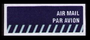 SINGAPORE AIR MAIL LABEL STICKER, NICE SEE SCAN