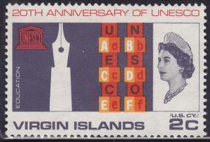 British Virgin Islands 176 Common Design 323 1966