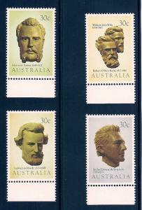 Australia 885-888 Mint VF NH