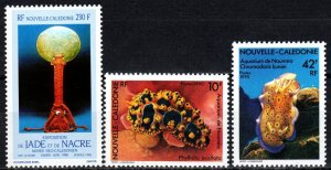 New Caledonia #631-3  MNH CV $7.20 (X7167)