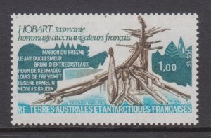French Southern & Antarctic Territories   #81     mnh      cat $0.80