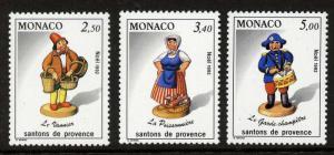 Monaco 1838-40 MNH Christmas Figurine