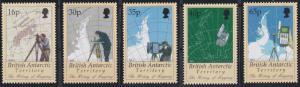 British Antarctic Territory 253-257 MNH (1998)