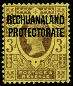 BECHUANALAND SG63, 3d purple/yellow, M MINT.