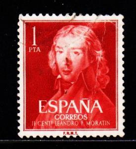 Spain - #971 Leandro de Moratin - Used