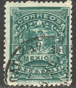 MEXICO 279 1cent MULITA UNWATERMARKED USED (169)