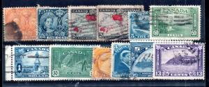Canada good used early collection useful, good Cat Val WS12236