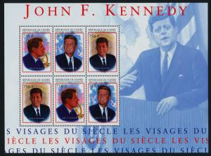 Guinea 2113 Sheet MNH John F. Kennedy