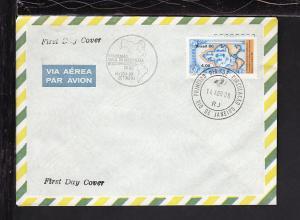 Brazil 1980 U/A FDC BIN