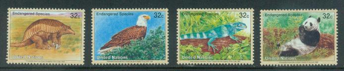U.N. New York Scott 657-660 VF MNH