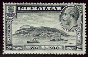 Gibraltar SC#68 SG#98 Mint F-VF hr...Worth a Close Look!