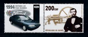 [76903] Guinea 2002 Classic Car Ford 1994 Mondeo 1.6  MNH