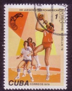 Cuba Sc. # 2196 CTO Basketball