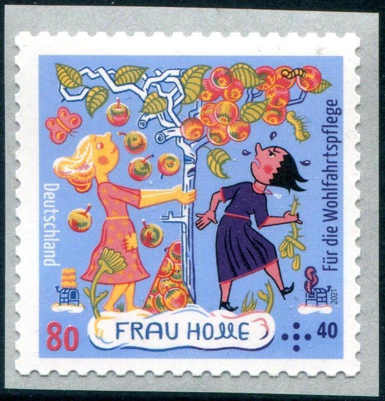 2021 Germany Frau Holle Grimms Fairy tales SA Coil (Scott NA) MNH