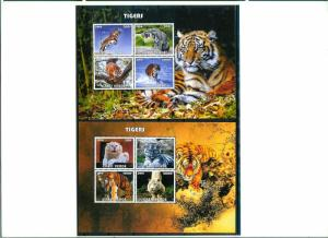 Cape Verde - TIGERS - 2 Sh imperf. MNH