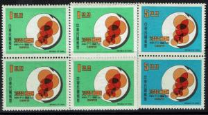 China (ROC) - SC# 1677 - 1678 - Blocks of 4 - Mint Never Hinged - 043016