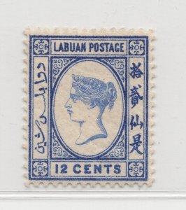 Malaya Labuan - 1892-93 - SG45a - 12c - MH #675