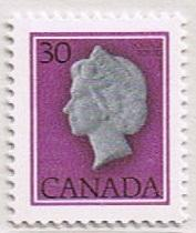Canada Mint VF-NH #791 QEII Definitive 30c