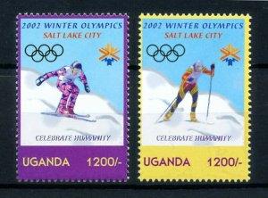 [101507] Uganda 2002 Olympic winter games Salt Lake City skiing  MNH