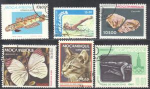 MOZAMBIQUE  USED STAMP LOT #2  SEE SCAN
