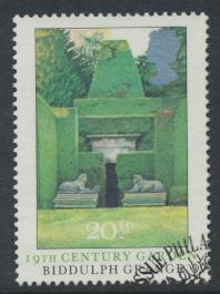 Great Britain  SG 1224 SC# 1028 Used / FU with First Day Cancel - Gardens
