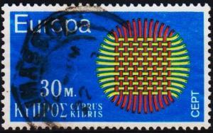 Cyprus. 1970 30m S.G.346 Fine Used